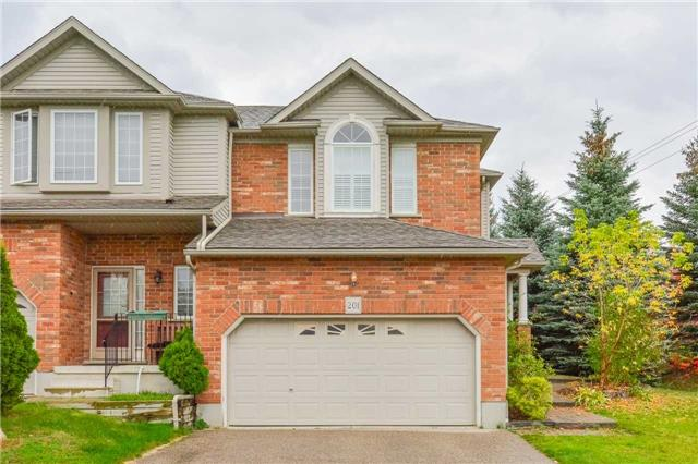 For Sale: 201 Dearborn Boulevard, Waterloo, ON | 3 Bed, 3 Bath Townhouse for $499,000. See 20 photos!