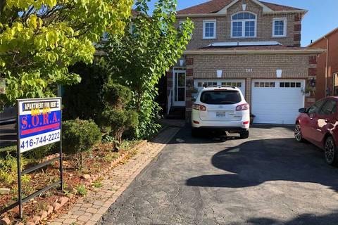 House for rent at 201 Sophia Rd Markham Ontario - MLS: N4600956