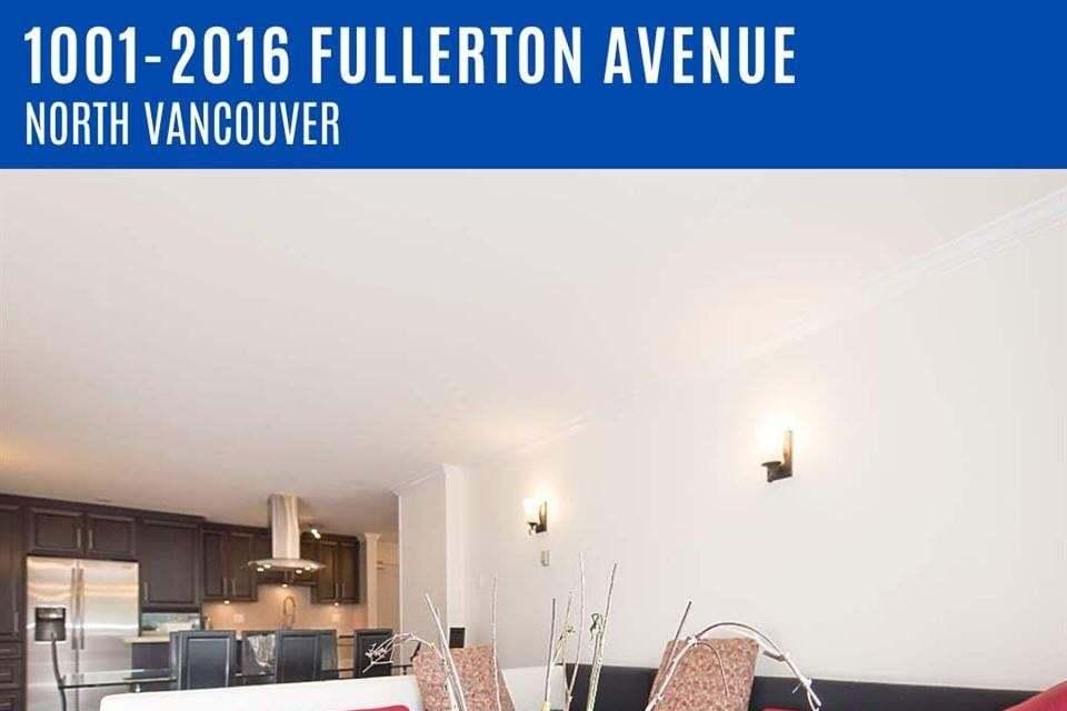 Apartment for rent at 2016 Fullerton  North Vancouver British Columbia - MLS: R2492652