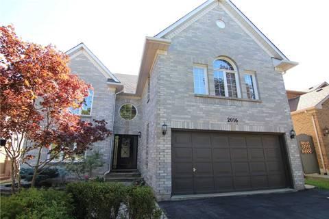 House for sale at 2016 Peak Pl Oakville Ontario - MLS: W4580631