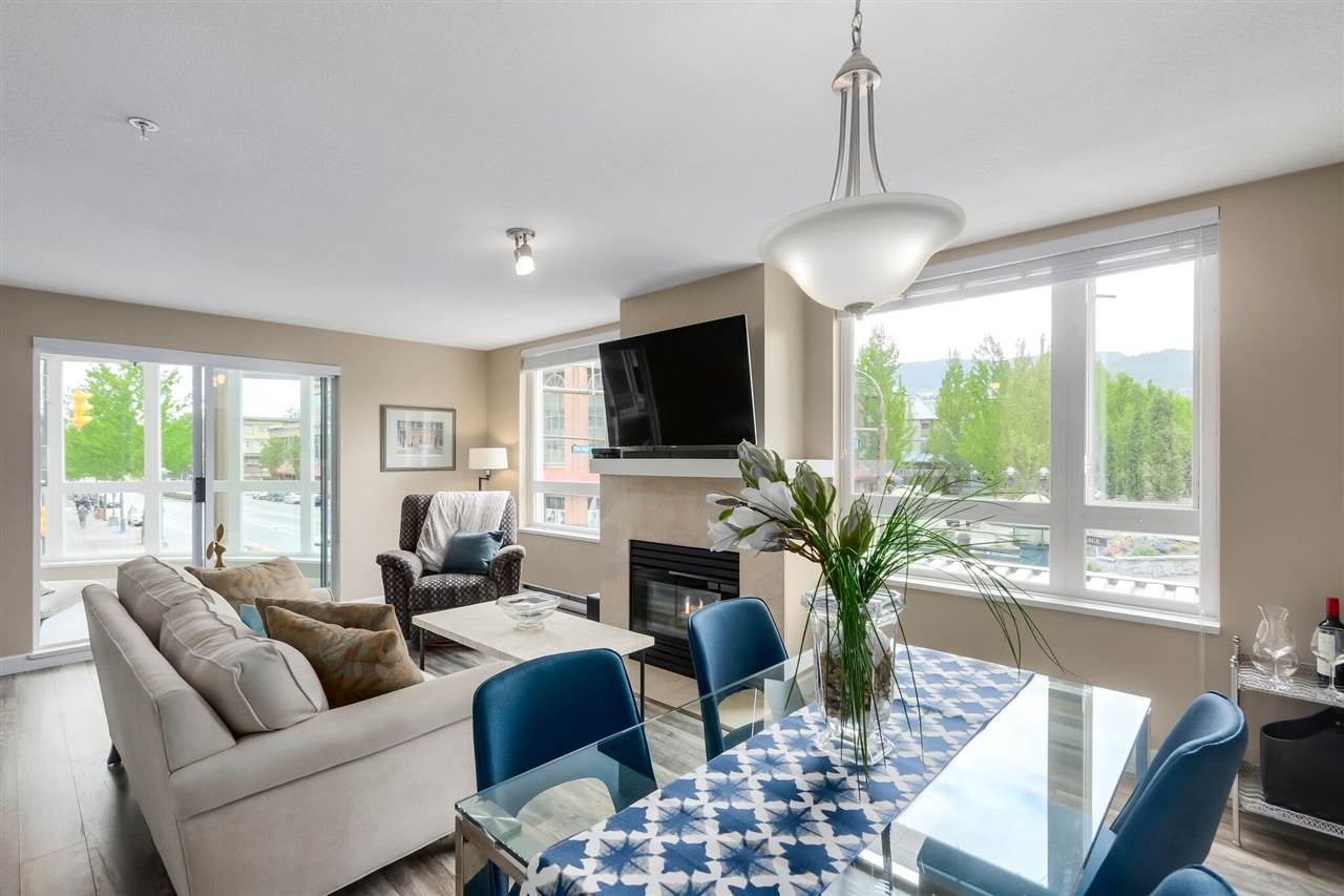 For Sale: 202 - 1163 The High Street, Coquitlam, BC | 2 Bed, 1 Bath Condo for $548,900. See 15 photos!