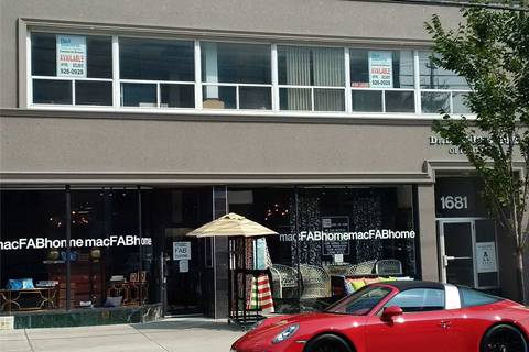 Commercial property for lease at 1681 Bayview Ave Apartment 202 Toronto Ontario - MLS: C4631154