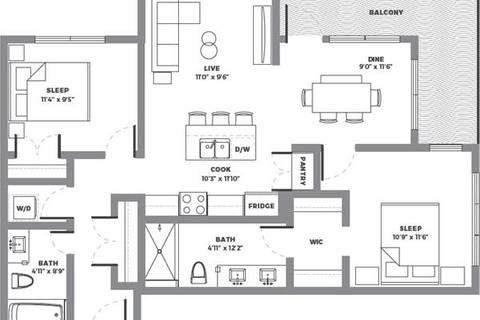 Condo for sale at 1702 17 Ave Southwest Unit 202 Calgary Alberta - MLS: C4201937