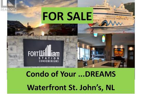 House for sale at 18 Water St Unit 202 St. John's Newfoundland - MLS: 1193388