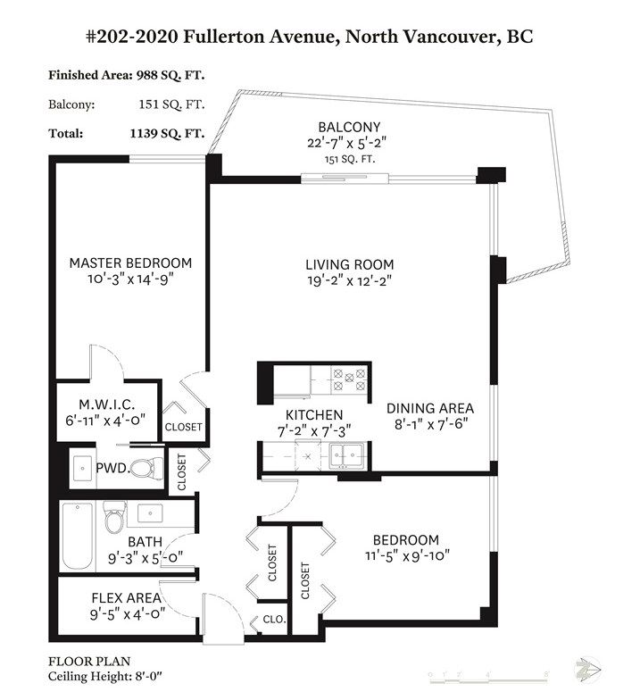 Sold: 202 - 2020 Fullerton Avenue, North Vancouver, BC