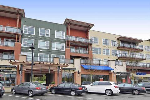Condo for sale at 20728 Willoughby Town Centre Dr Unit 202 Langley British Columbia - MLS: R2380076