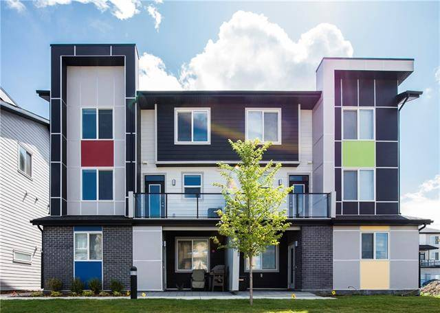 Townhouse for sale at 350 Redstone Walk/walkway Northeast Unit 202 Calgary Alberta - MLS: C4276394