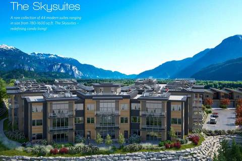 Condo for sale at 41328 Skyridge Pl Unit 202 Squamish British Columbia - MLS: R2406015