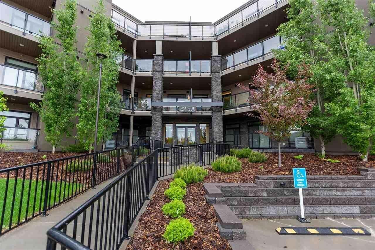 Condo for sale at 625 Leger Wy NW Unit 202 Edmonton Alberta - MLS: E4201093