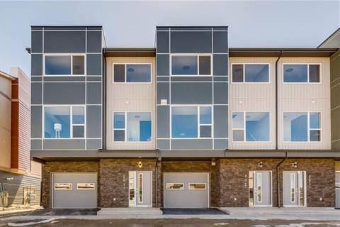 Townhouse for sale at 70 Saddlestone Dr Northeast Unit 202 Calgary Alberta - MLS: C4244177