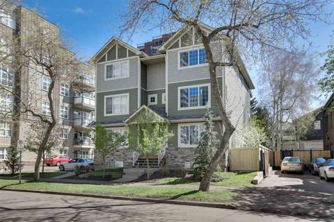 Townhouse for sale at 8609 111 St Nw Unit 202 Edmonton Alberta - MLS: E4157636