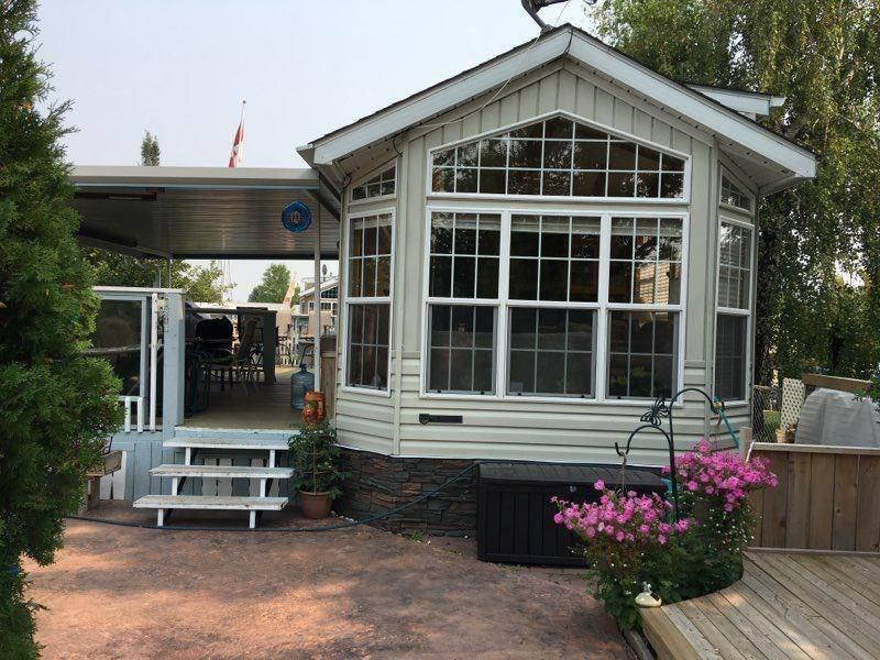 Home for sale at 202 Carefree Resort  Gleniffer Lake, Rural Red Deer County Alberta - MLS: C4228306