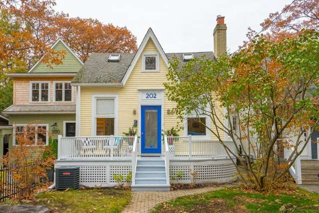 For Sale: 202 Silver Birch Avenue, Toronto, ON   3 Bed, 1 Bath House for $1,099,000. See 19 photos!