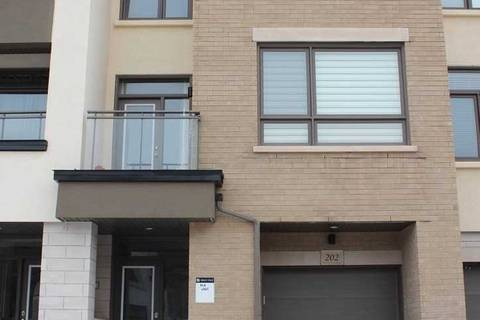 Townhouse for rent at 202 Wheat Boom Dr Oakville Ontario - MLS: W4696282