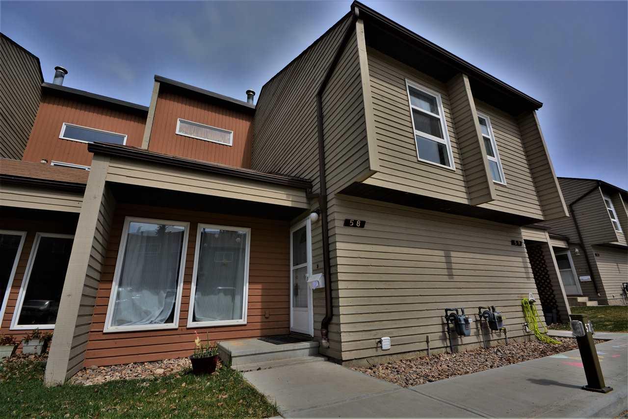 For Sale: 58 - 2020 105 Street, Edmonton, AB   3 Bed, 1 Bath Condo for $209,900. See 27 photos!