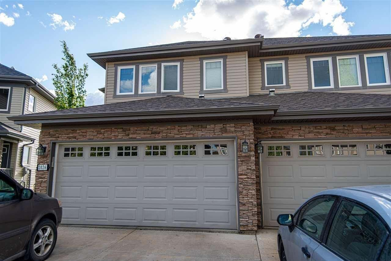 Townhouse for sale at 2026 69a St SW Edmonton Alberta - MLS: E4214144