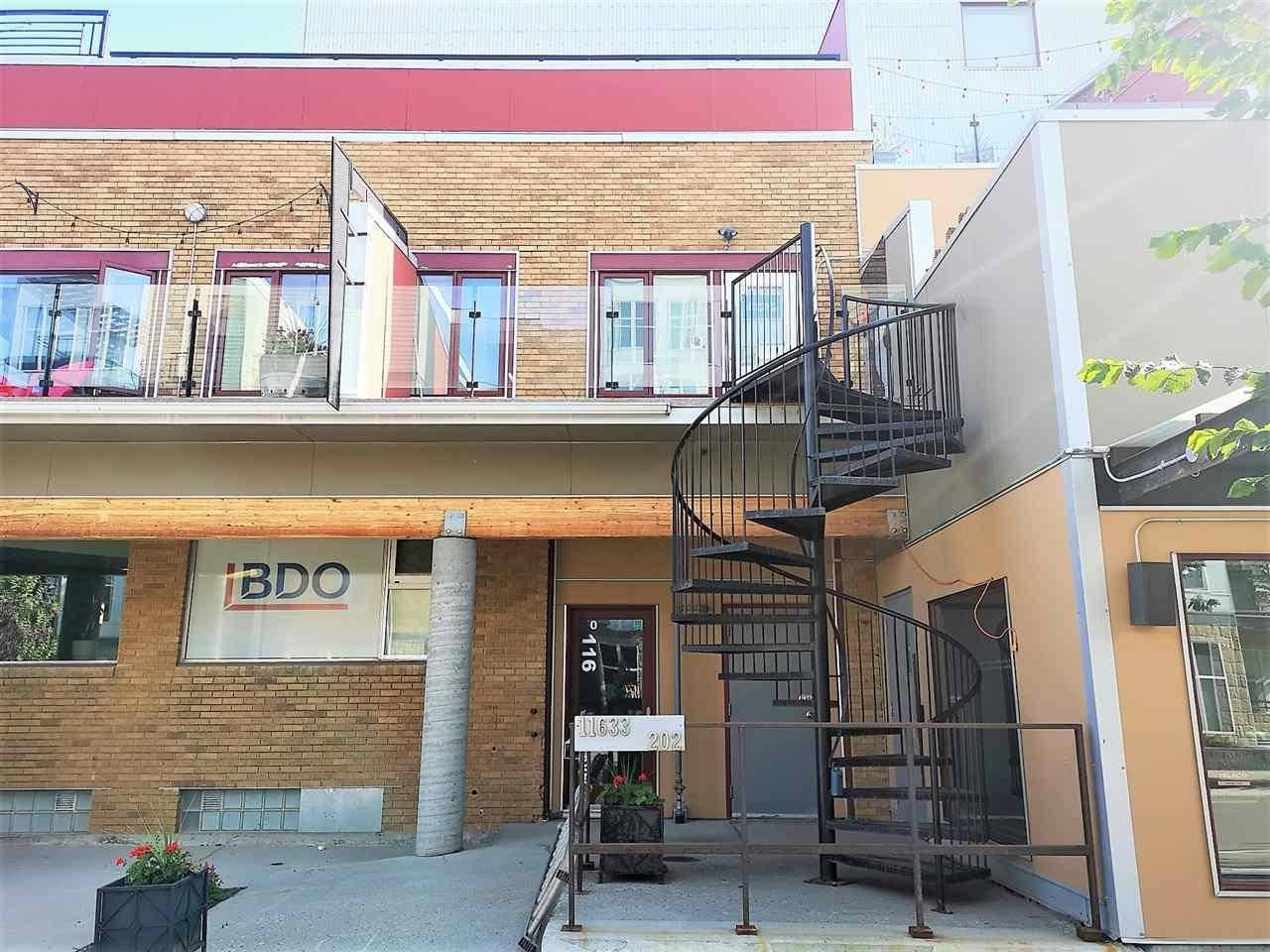 Commercial property for sale at 11633 105 Ave Nw Unit 202b Edmonton Alberta - MLS: E4186047