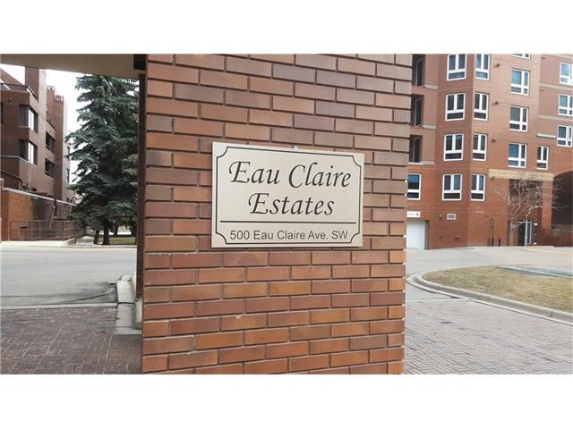Sold: 202f - 500 Eau Claire Avenue Southwest, Calgary, AB