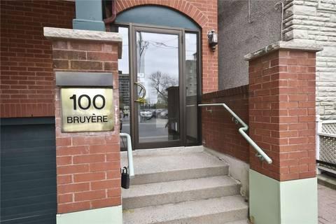 Condo for sale at 100 Bruyere St Unit 203 Ottawa Ontario - MLS: 1153942