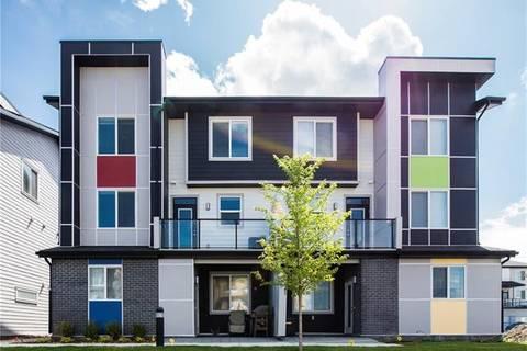 Townhouse for sale at 120 Redstone Walk/walkway Northeast Unit 203 Calgary Alberta - MLS: C4263429