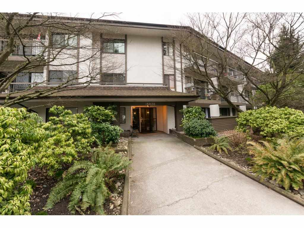 For Sale: 203 - 15020 North Bluff Road, White Rock, BC | 1 Bed, 1 Bath Condo for $175,000. See 20 photos!
