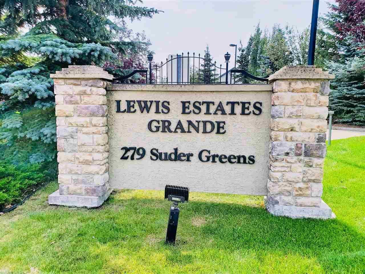 Condo for sale at 279 Suder Greens Dr Nw Unit 203 Edmonton Alberta - MLS: E4168042