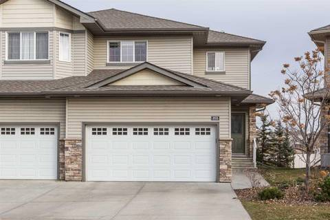 Townhouse for sale at 41 Summerwood Blvd Unit 203 Sherwood Park Alberta - MLS: E4149736