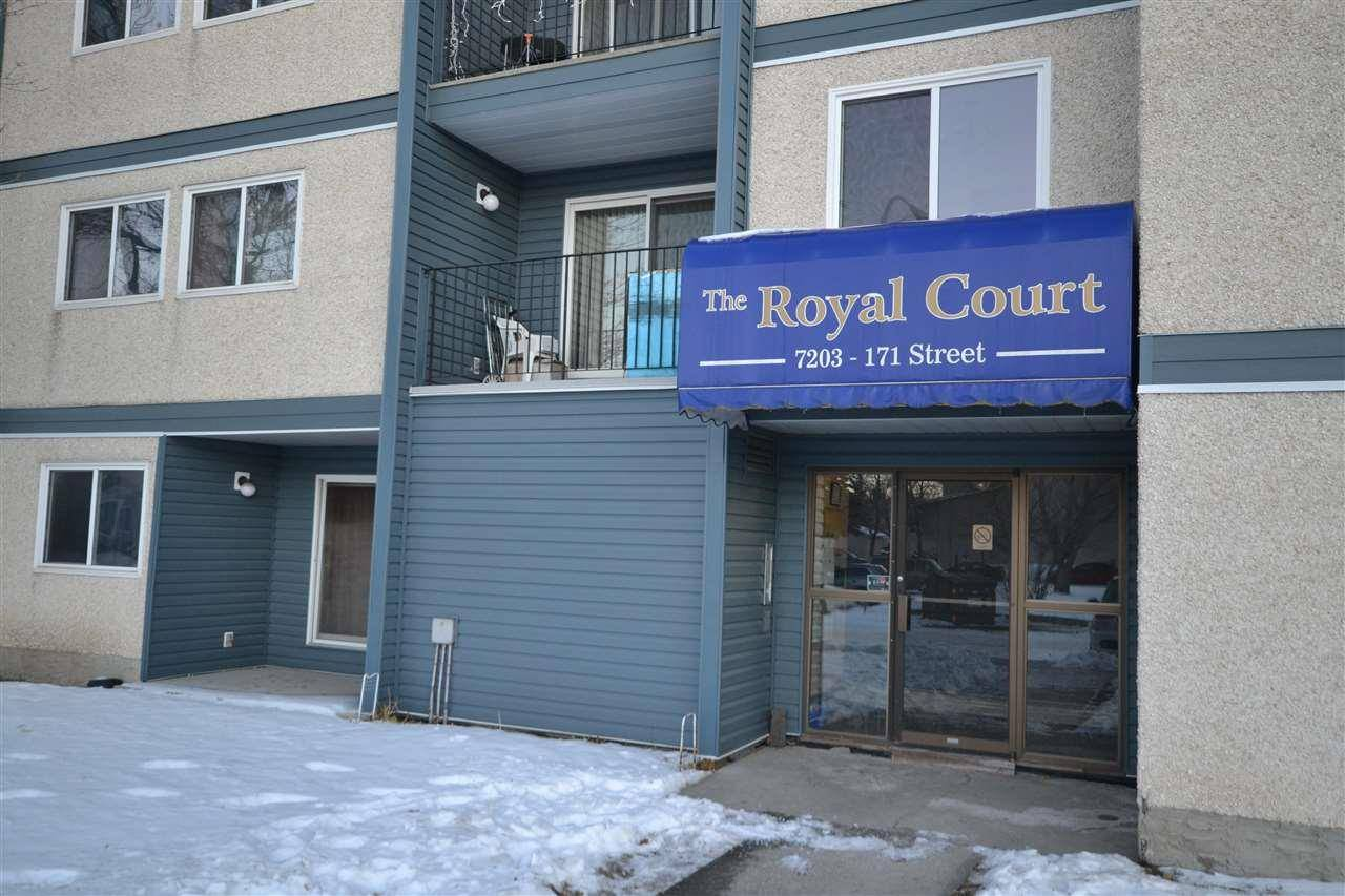 Condo for sale at 7203 171 St Nw Unit 203 Edmonton Alberta - MLS: E4181031