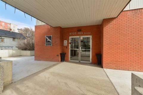 Condo for sale at 9707 105 St Nw Unit 203 Edmonton Alberta - MLS: E4154017