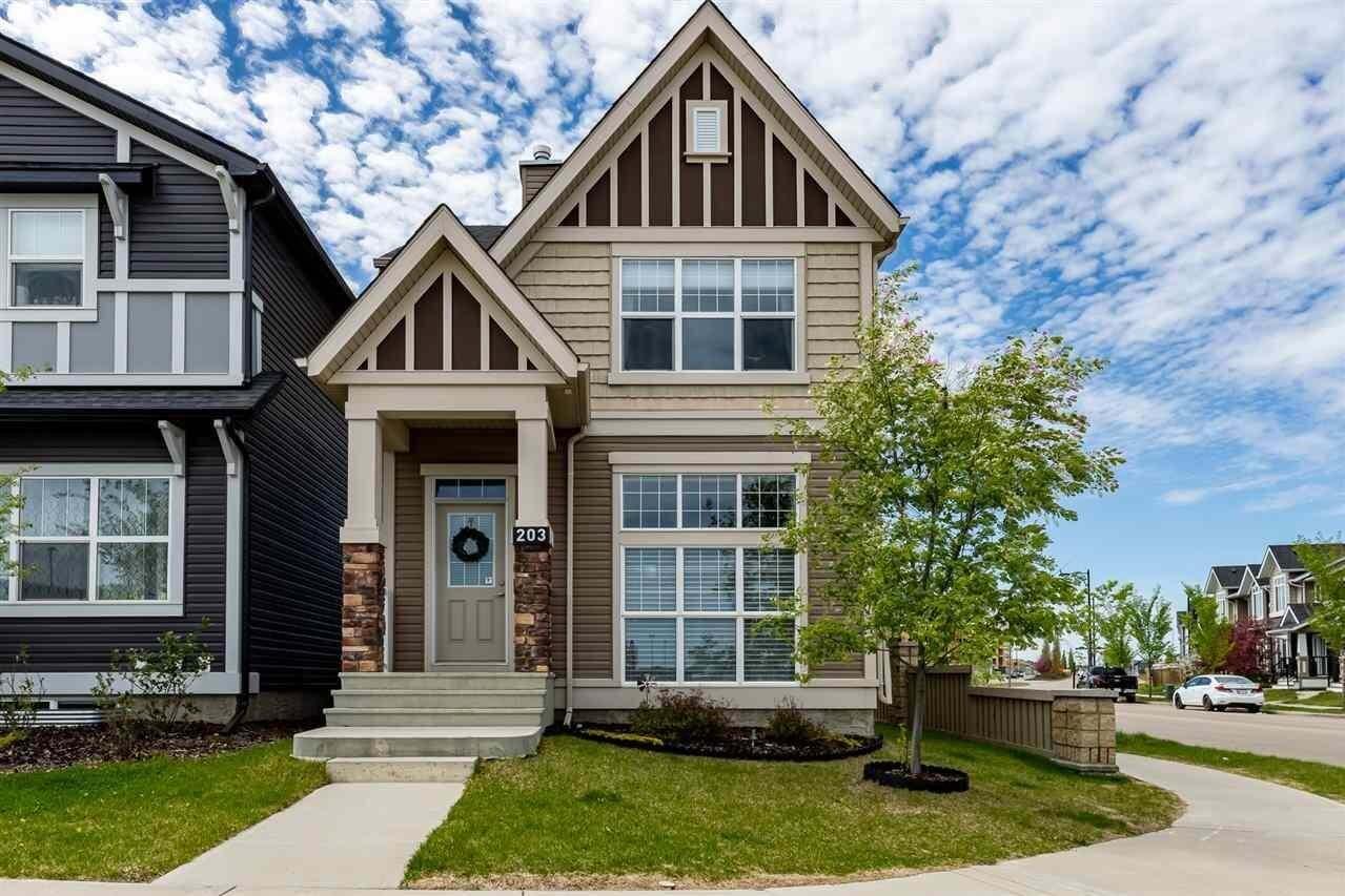 House for sale at 203 Allard Bv SW Edmonton Alberta - MLS: E4200115