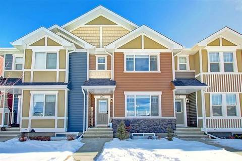 Townhouse for sale at 203 Fireside Parkway Pw Cochrane Alberta - MLS: C4286491