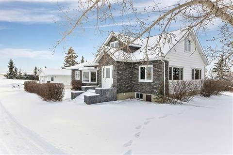 House for sale at 203039 272 Twp Road W  Rural Wheatland County Alberta - MLS: C4233867
