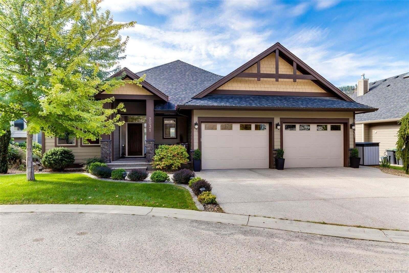 House for sale at 2031 Hidden Ridge Pl Kelowna British Columbia - MLS: 10216768