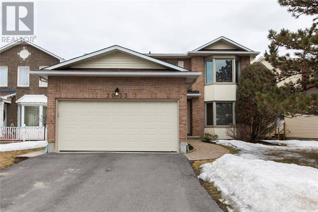 House for sale at 2033 Wildflower Dr Ottawa Ontario - MLS: 1187563