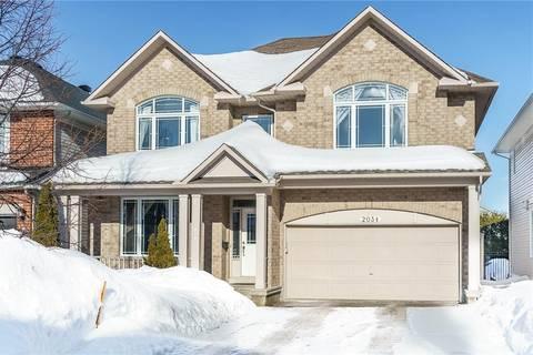 House for sale at 2034 Cherington Cres Ottawa Ontario - MLS: 1151642