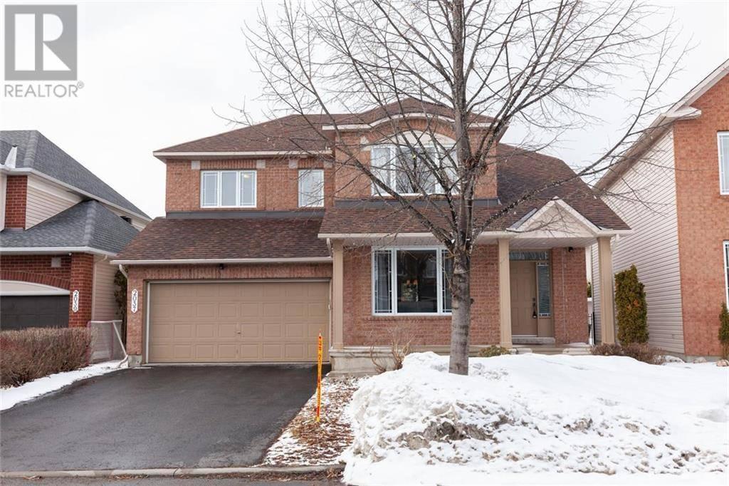 House for sale at 2037 Cherington Cres Ottawa Ontario - MLS: 1187119
