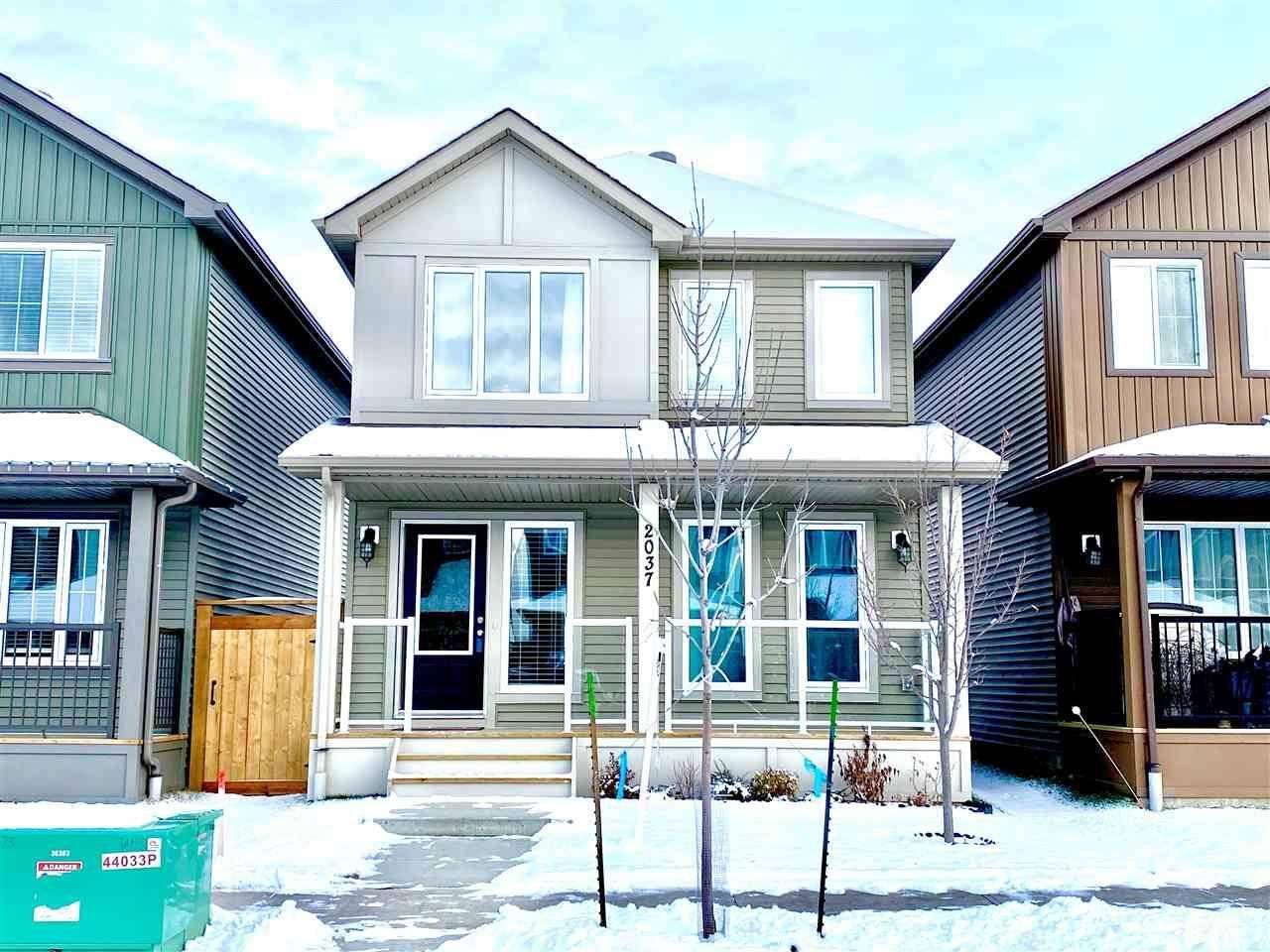 House for sale at 2037 Graydon Hill Cres Sw Edmonton Alberta - MLS: E4175648