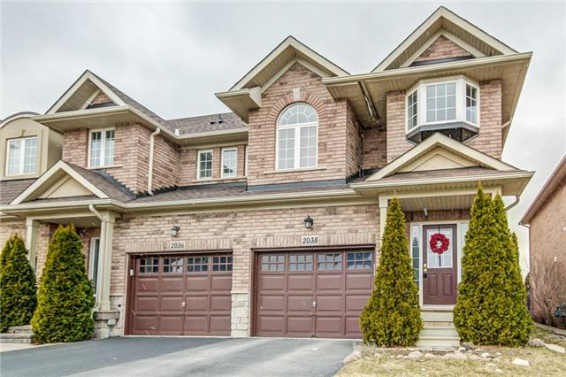 For Sale: 2038 Redstone Crescent, Oakville, ON   3 Bed, 4 Bath Townhouse for $858,000. See 20 photos!