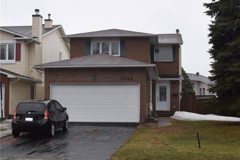 House for sale at 2038 Wildflower Dr Ottawa Ontario - MLS: 1146314