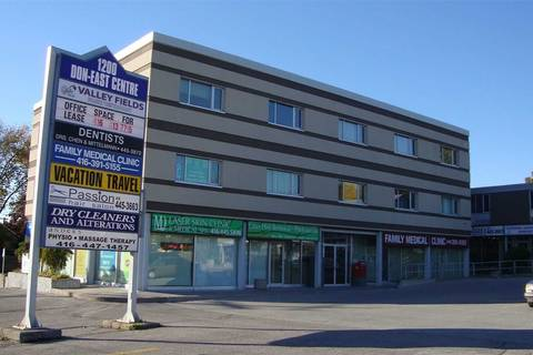 Commercial property for lease at 1200 Lawrence Ave Apartment 204 Toronto Ontario - MLS: C4575957