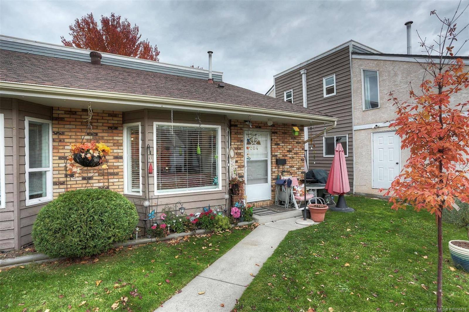 Townhouse for sale at 3155 Gordon Rd Unit 204 Kelowna British Columbia - MLS: 10194418