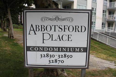 Condo for sale at 32870 George Ferguson Wy Unit 204 Abbotsford British Columbia - MLS: R2397555