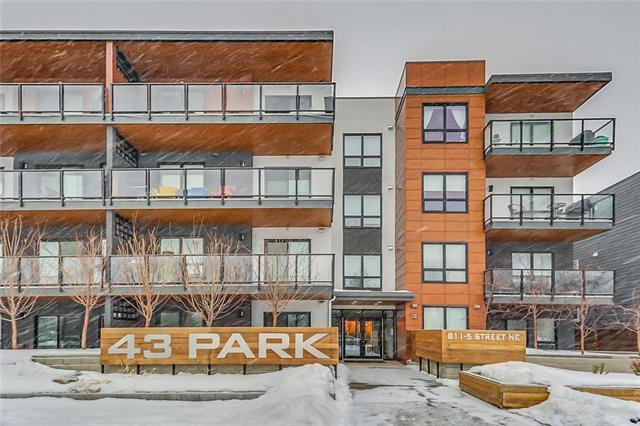 For Sale: 204 - 811 5 Street Northeast, Calgary, AB | 1 Bed, 1 Bath Condo for $324,000. See 39 photos!