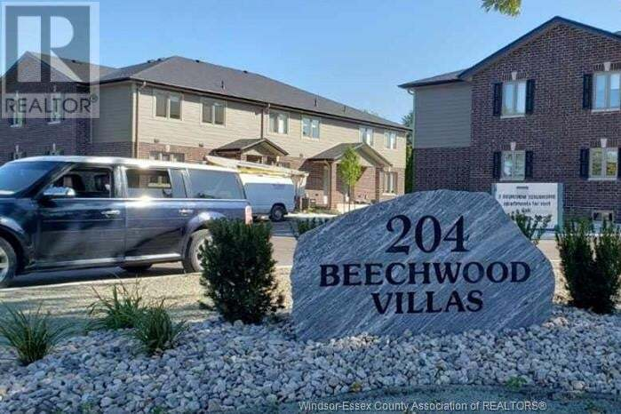Townhouse for sale at 204 Beechwood  Lakeshore Ontario - MLS: 20013766