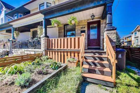 Townhouse for sale at 204 Brock Ave Toronto Ontario - MLS: C4924240