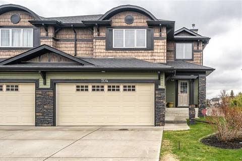 Townhouse for sale at 204 Springmere Gr Chestermere Alberta - MLS: C4245938