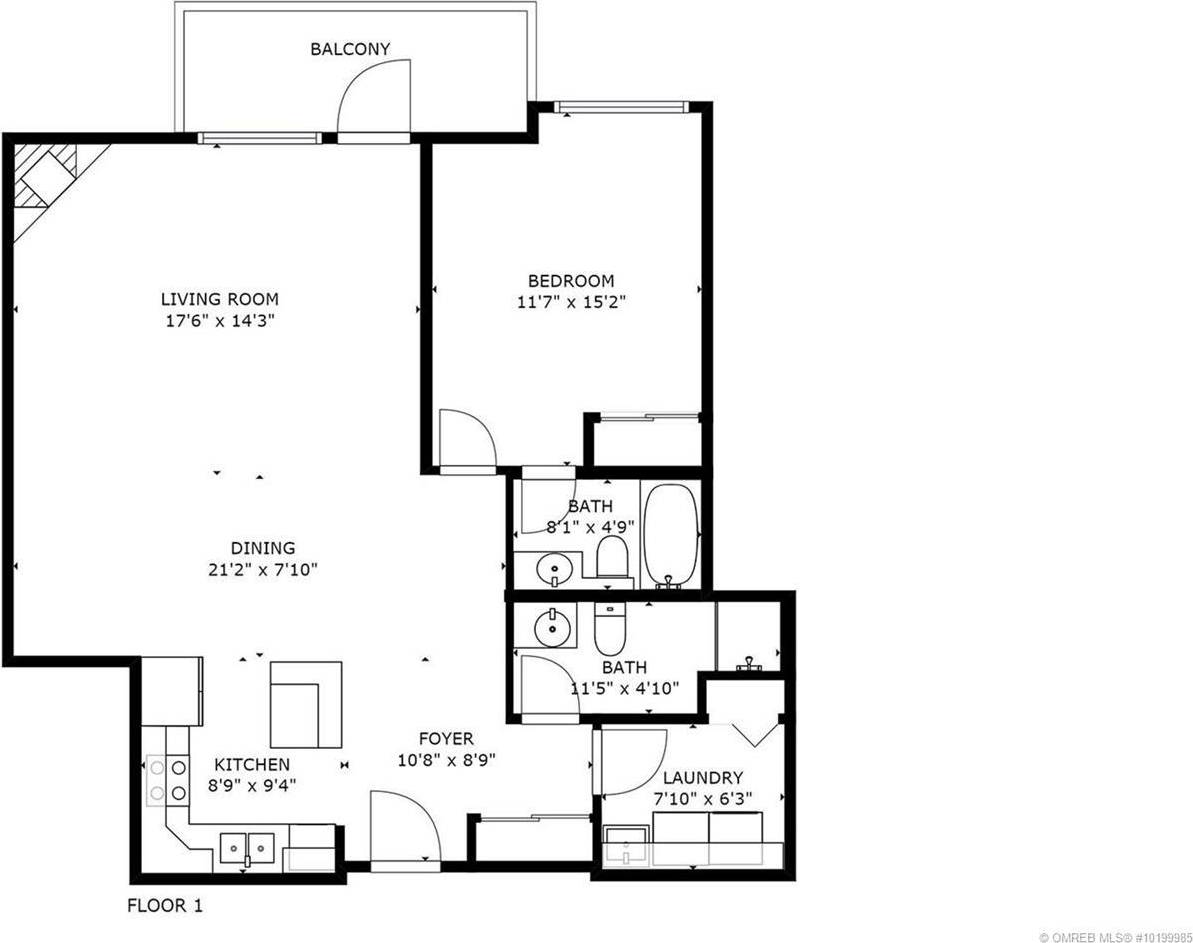Condo for sale at 1125 Bernard Ave Unit 205 Kelowna British Columbia - MLS: 10199985