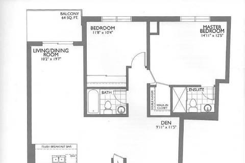 Condo for sale at 150 Oak Park Blvd Unit 205 Oakville Ontario - MLS: W4639700