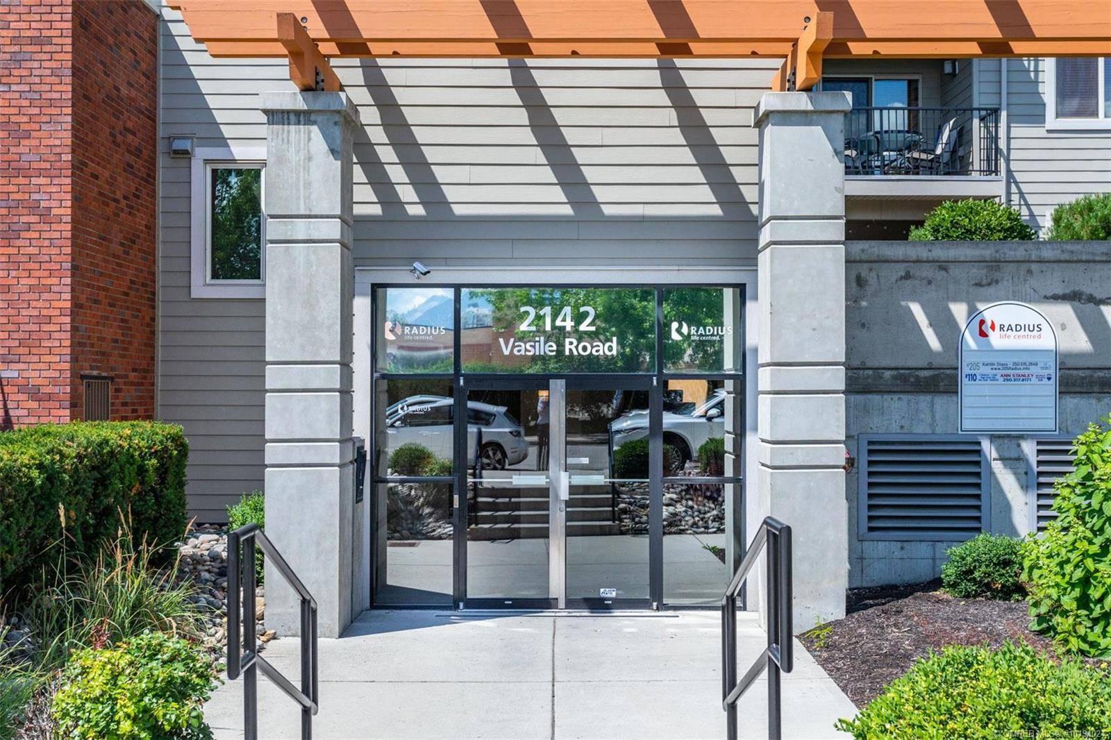 Condo for sale at 2142 Vasile Rd Unit 205 Kelowna British Columbia - MLS: 10191024