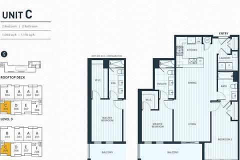 Condo for sale at 3755 Chatham St Unit 205 Richmond British Columbia - MLS: R2450238